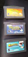 Nintendo Game Boy Advance Lot of 3 ~ ~  SHREK 2,  REEKIN HAVOC, MADAGASCAR