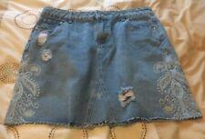 Denim Ripped Skirt Size 12