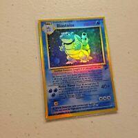 Custom Proxy Blastoise (Base Set 2 - 2/130) Holographic Pokemon Card
