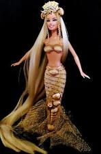Golden Dunes Mermaid Sea Siren ~Barbie doll OOAK Ocean DAKOTAS SONG