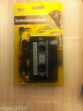 Cassette Converter play CD, mp3 or MD players in Your Car's