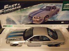 NISSAN SKYLINE GT-R R34 Brian Fast & Furious 1999 von GREENLIGHT 1:18 NEU & OVP