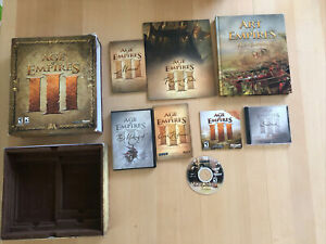Age of Empires 3 Collectors Edition- Missing The Game, Includes Pictured