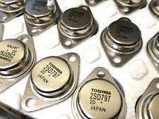 2SD797 SILICON NPN TRIPLE DIFFUSED  TOSHIBA LOT OF 2