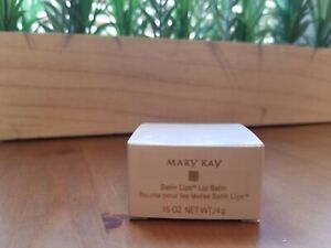 Mary Kay Satin Lips Lip Balm in Glass Jar (.15 oz) - Discontinued - Quite Rare