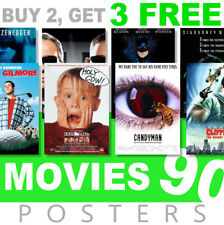 Classic Movie Posters 1990s 90s Poster, A4, A3 270gsm Poster, Prints, Art, Film