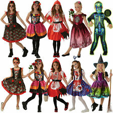 Rubies Kids Halloween Fancy Dress Girls Childrens Spooky Scary Party Costumes