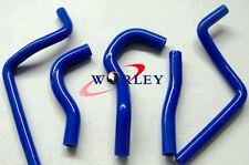 BLUE silicone radiator hose kit for Honda CR125R CR 125 R CR125 2003 2004