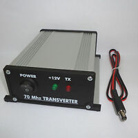 70 to 28 MHz ASSEMBLED TRANSVERTER 4m 70mhz VHF UHF Ham Radio DX