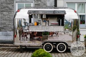 New Airstream Mobile Food Truck Suitable for Burger, Coffee Gin Prosecco Pizza