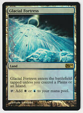 Silver Signed FOIL Glacial Fortress MP M10 Artist Franz Vohwinkel MTG Magic!