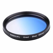 RISE UK 52mm Gradient Blue  specially good effect  Lens Filter