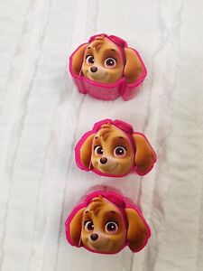 Paw Patrol 3 Treat Containers Skye Pink Ages 3+