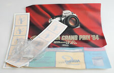 NIKON FA AND S SERIES MARKETING MATERIALS LOT WINDOW DECALS/BANNER