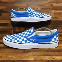 Vans Classic Slip On Checkered (Men's Size 11.5) Athletic Casual Sneaker Shoe