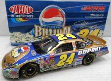 Jeff Gordon #24 DuPont/Pepsi Billion Dollar 2003 1/24 Scale NASCAR Diecast