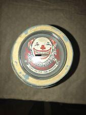 VTG James' Original Atlantic City Salt Water Taffy Advertising Barrel Bank Clown