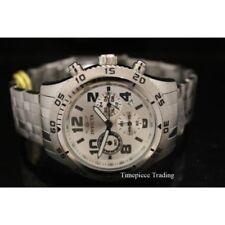Relojes de pulsera Invicta de acero inoxidable plateado