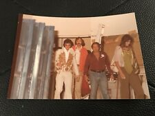 Vintage Type 1 Elvis Presley Candid Photo Keith Alverson Stamp 6/1/77 Macon, GA