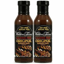Walden Farms Calorie-Free Original Barbecue Sauce, 12 oz (Pack of 2)