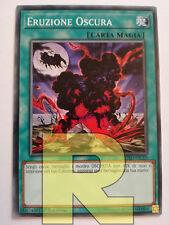 Set 2 Carte ERUZIONE OSCURA in Italiano Comune da Mazzo YUGIOH Dark Eruption Verzamelingen kaartspellen