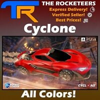 [PS4/PSN] Rocket League Every Painted CYCLONE Zephyr Crate Import Car Brand New