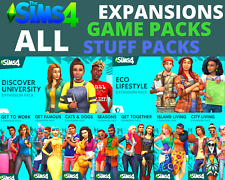 ⭐️ The Sims 4 ALL Expansions + GAME & STUFF packs | Origin | PC & Mac ⭐️