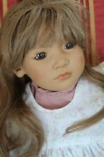 "Annette Himstedt 1992 doll Neblina Signed 27"" sitting doll Vinyl"