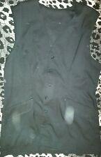 Cotton Blend V Neck Unbranded Regular Waistcoats for Women