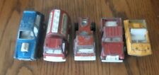 Lot Of 5 Vintage Tootsie Toy Cars Trucks Diecast Vehicles