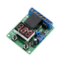 12V Voltage Detection Charging Discharge Monitor Relay Switch Control Module