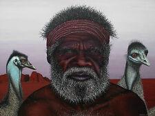 Old Man Emu, anthony's art print 60cm x 40cm.