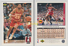 NBA UPPER DECK 1994 COLLECTOR'S CHOICE - Robert Horry #125 - Ita/Eng- MINT