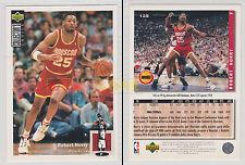 NBA UPPER DECK 1994 COLLECTOR'S CHOICE - Robert Horry #125 - Ita/Eng- MINT