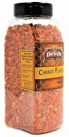 Dried Carrots By It's Delish, 14 Oz Large Jar