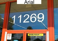 Storefront Address Numbers 4-12