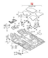 Volkswagen Premium textilfussmatten VW SCIROCCO Velour Paillassons phrase