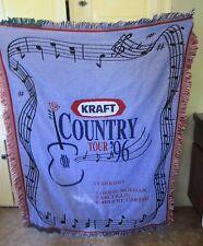"Kraft Country Tour '96 Throw Blanket Tapestry 56"" x 44"" Lorrie Morgan"