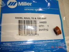 Miller Plasma Cutter Swirl Ring 169-222 $35  70 Amp 100 AMP
