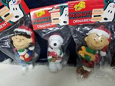 50th Anniversary Snoopy Lucy Charlie Brown Peanuts KURT ADLER Christmas ORNAMENT