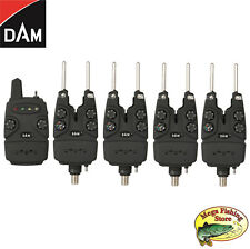 DAM 4+1 Multi-Color Funk Bissanzeiger Set - Bißanzeiger / Alarm Combo + Koffer