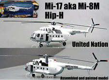 Russian Mi-17 Mi-8M Hip-H United Nation helicopter 1/72 no diecast Easy model