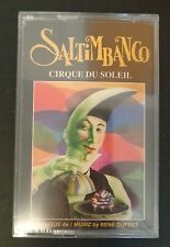 SALTIMBANCO Music Cassette CIRQUE DU SOLEIL New FREE SHIPPING Sealed