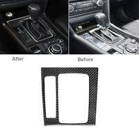 Carbon Fiber Interior Gear Shift Box Panel Trim Cover For Mazda 3 Axela 2017-18