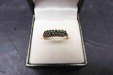 Emerald Shaped Very Good Cut Natural Fine Diamond Rings