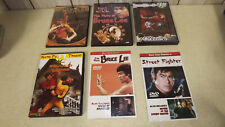 BRUCE LEE DVD's  Martial Arts  Excellent Condition  See photos   (6) DVDs
