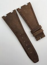 AP Bands Audemars Piguet ROO 28mm x 18mm Brown Calf Leather Strap OEM