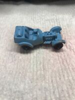 Vintage Tootsietoy Blue  Hot Rod Roadster Die Cast Car With Headers Tootsie