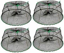 4-Pack of KUFA Sports Tower Style Stainless Steel Prawn trap (CT77x4)