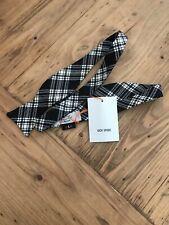 Jack Spade Bow Tie NEW Black Plaid OS